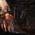 Christ in Gethsemane painting by Paolo Veronese
